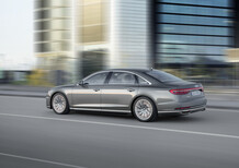 Audi A8, anche a passo lungo e con tecnologia AI piloted driving level 3 [Video]
