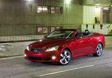Lexus IS Cabrio (2009-12)
