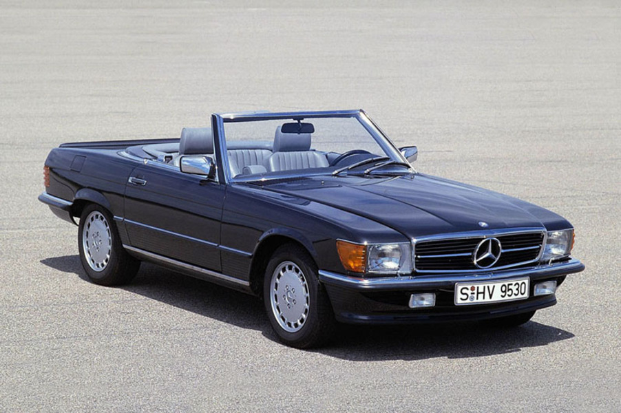 mercedes benz 500 cabrio 500 sl roadster 07 1980 03. Black Bedroom Furniture Sets. Home Design Ideas