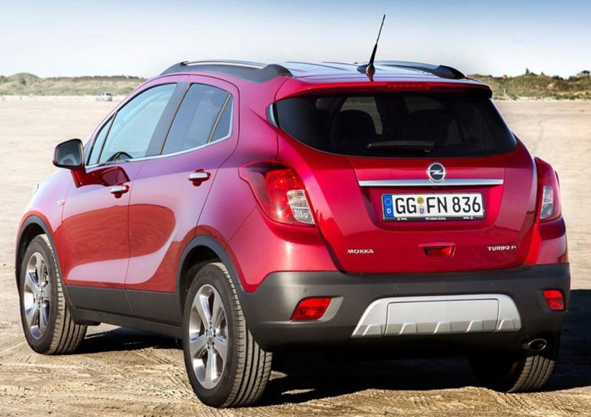 Opel Mokka X 1.6 CDTI Ecotec 136CV 4x2 Start&Stop Vision (4)