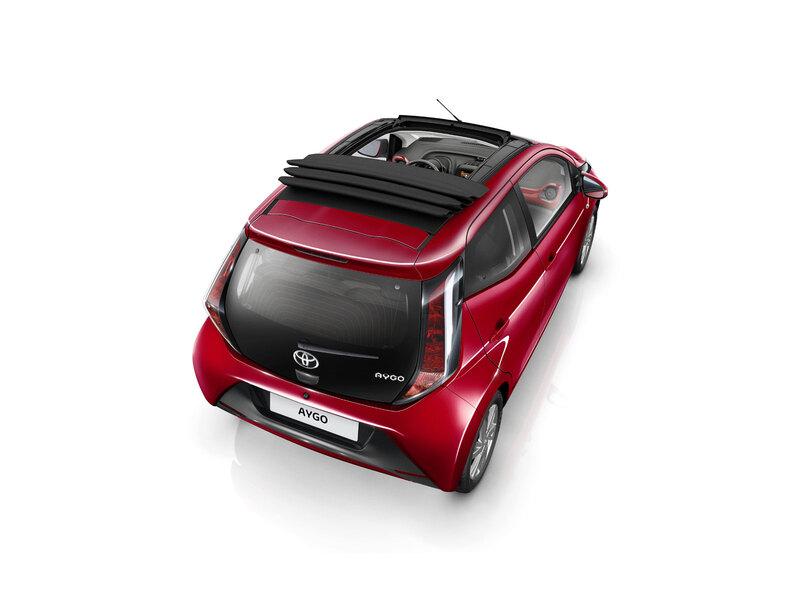 Toyota Aygo 1.0 VVT-i 72 CV 5 porte x-wave orange (5)