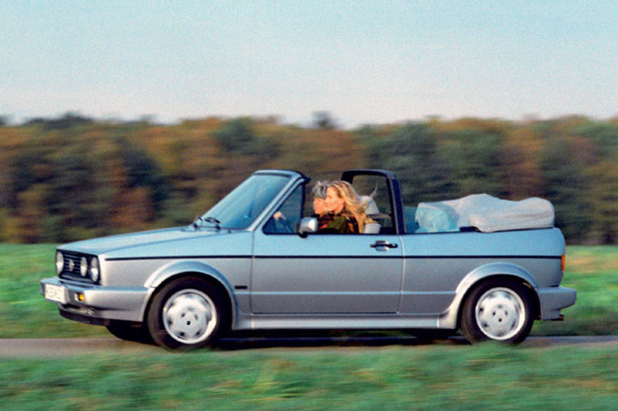 Volkswagen Golf Cabrio (1979-93) (4)
