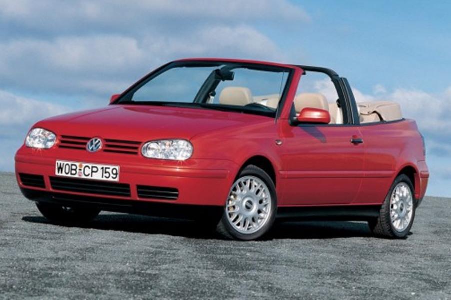 Volkswagen Golf Cabrio (1998-02) (2)