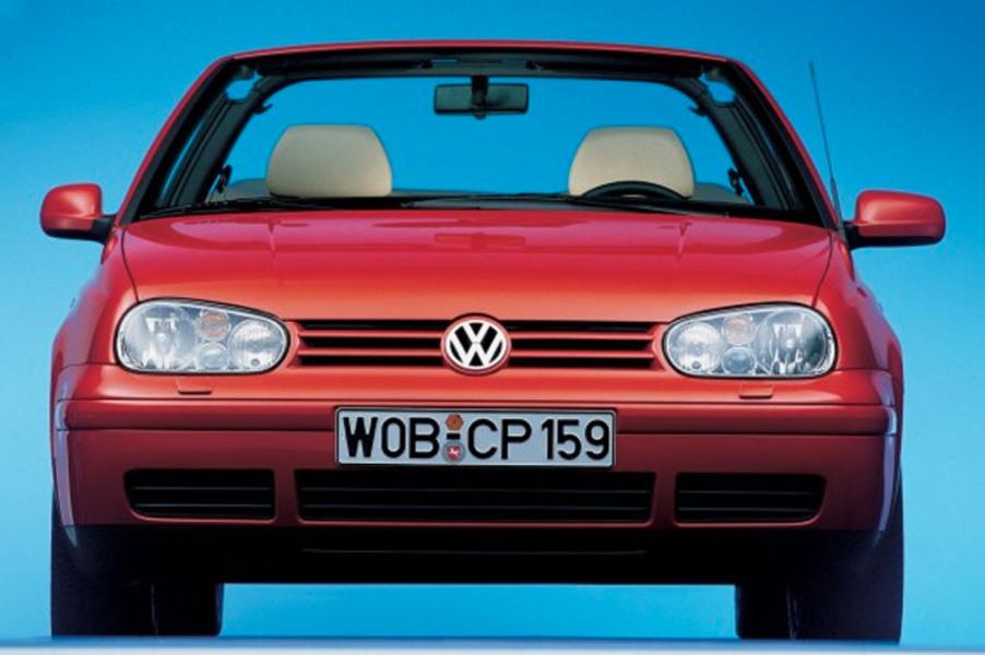 Volkswagen Golf Cabrio (1998-02) (5)
