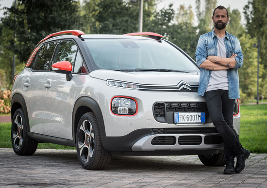 Fabio Volo diventa il nuovo testimonial  di Citroën C3 Aircross