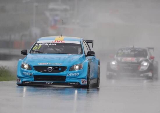 WTCC 2017, Cina, Main Race: gara sospesa per la pioggia