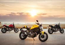 Nuova Ducati Monster 821, prima novità 2018