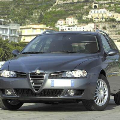 alfa romeo 156 sportwagon 2 5 v6 24v sportwagon q system t. Black Bedroom Furniture Sets. Home Design Ideas