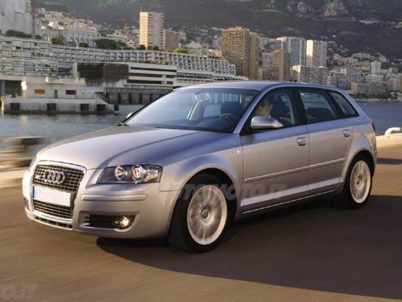 Audi a3 sportback 2 0 tdi 170 cv f ap ambition 09 2008 for Dimensioni audi a3 sportback 2008