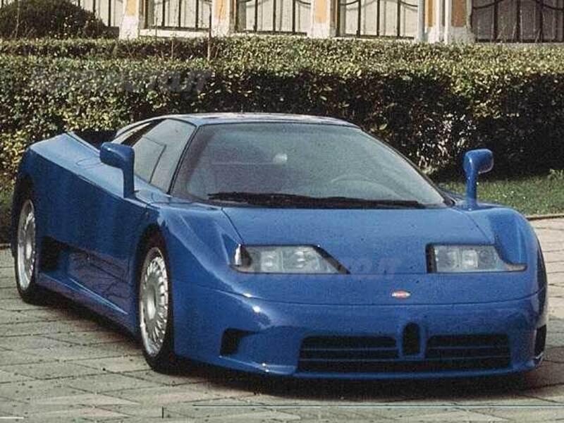 bugatti eb 110 eb 110 gt (03/1994 - 12/1995): prezzo e scheda