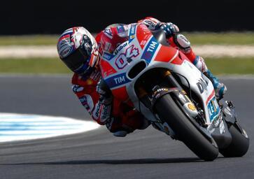 MotoGP Australia, Dovizioso: Sono veloce, ma non basta per battere Marquez