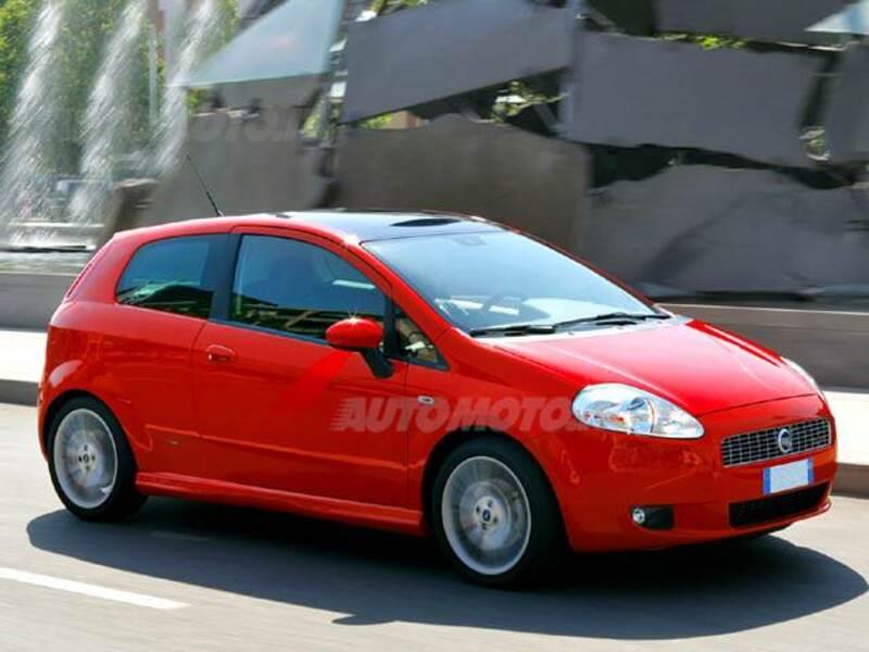 Fiat Grande Punto 1.4 3 porte Dualogic Actual