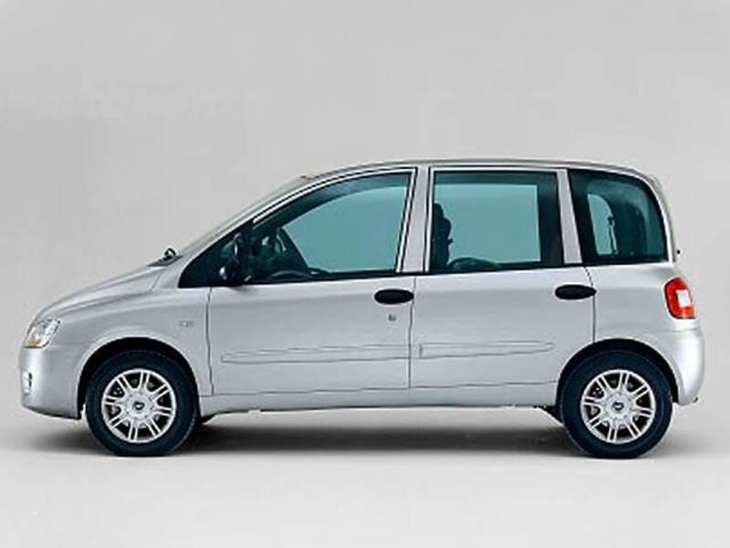bed860e0d5 Fiat Multipla 1.9 MJT Active (07 2008 - 10 2010)  prezzo e scheda ...