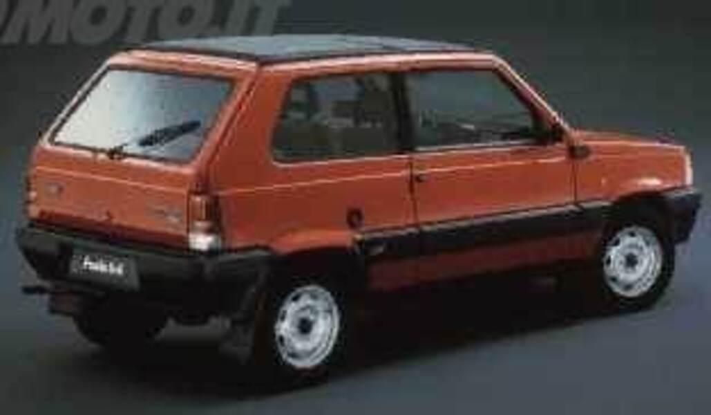 fiat panda 1000 4x4 sisley 09 1987 11 1988 prezzo e