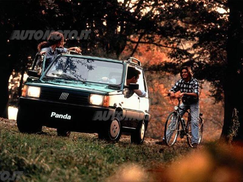 Fiat Panda 1100 i.e. cat 4x4 Trekking