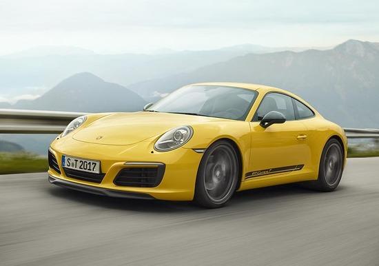 """Porsche 911 Carrera T, la """"sessantottina"""""""