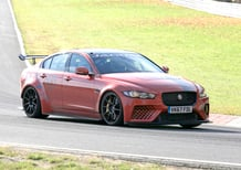 Jaguar XE SV Project 8: in pista al Nurburgring