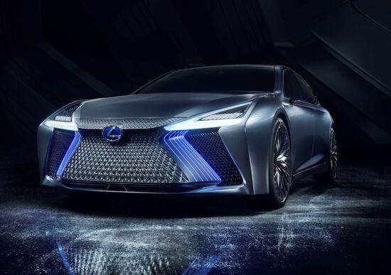 Lexus LS+ Concept, l'ammiraglia di domani