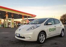 EVA+ Roma: nuova colonnina ricarica veloce presso la stazione di Selva Candida