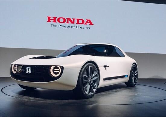 Honda Sports EV Concept: intrigante coupé che seguirà la Urban?