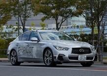 Nissan, test per la guida autonoma a Tokyo