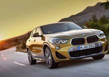 BMW X2, ecco il crossover coupé della casa dell'Elica