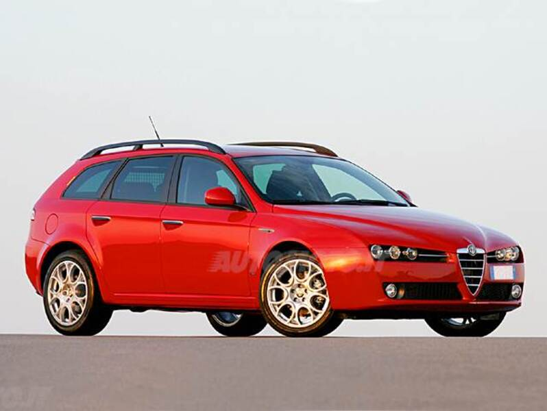alfa romeo 159 sportwagon 2 0 jtdm sportwagon distinctive 03 2009 06 2013 prezzo e scheda. Black Bedroom Furniture Sets. Home Design Ideas