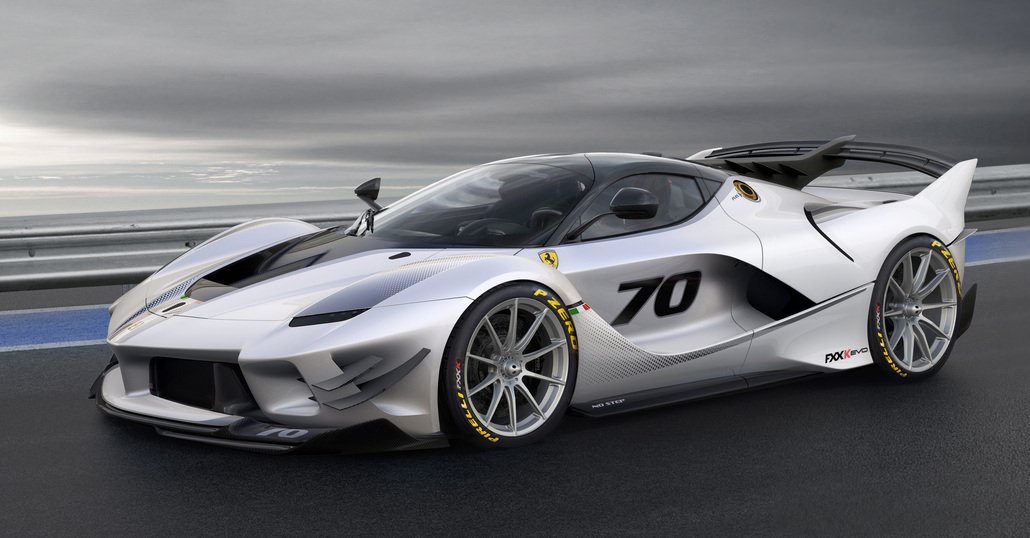 Ferrari FXX-K Evo, DNA racing