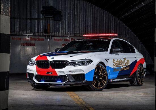 BMW M5 xDrive, la nuova Safety Car della MotoGP 2018
