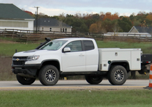 Chevrolet Colorado, prove di pick up