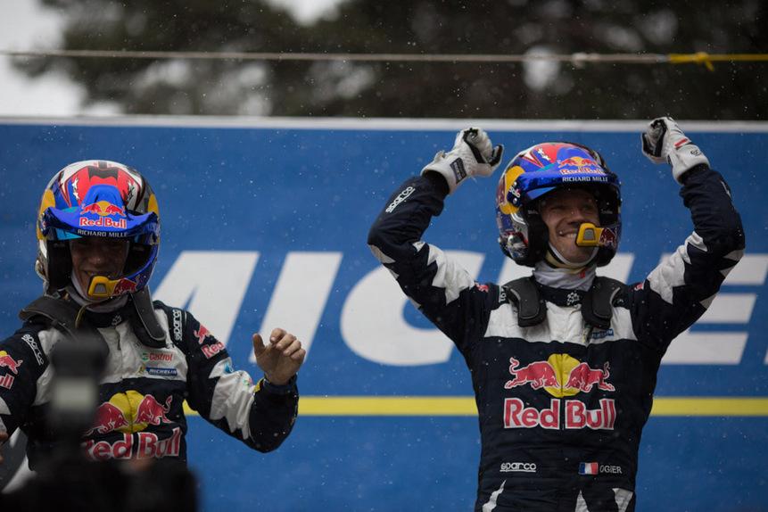 WRC, Sébastien Ogier: il quinto titolo in immagini (3)