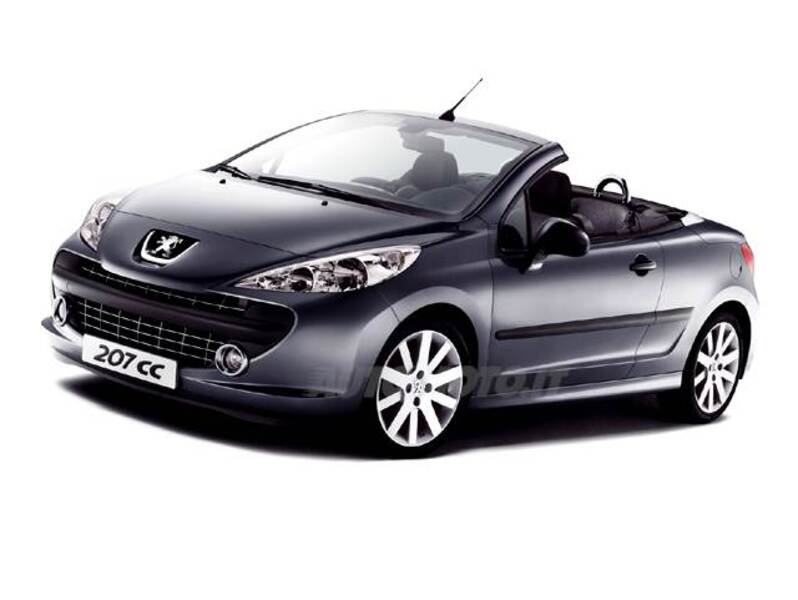 peugeot 207 cabrio hdi 110cv cc f line 03 2008 06 2009. Black Bedroom Furniture Sets. Home Design Ideas