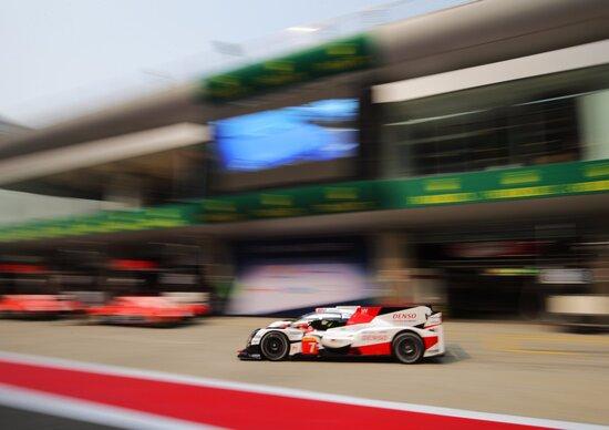 WEC 2017, 6 Ore di Shanghai: pole per Toyota