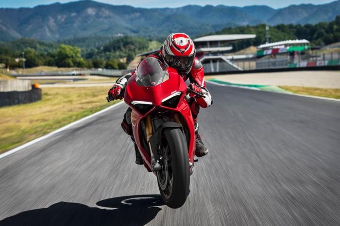 Ducati Panigale V4, regina di Eicma 2017