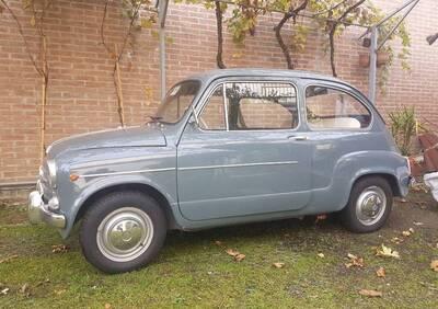 600 D d'epoca del 1965 a Padova d'epoca
