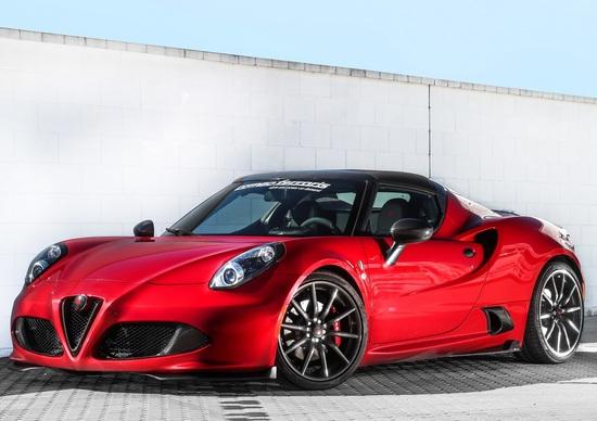 Alfa Romeo 4C by Romeo Ferraris, la prova in pista