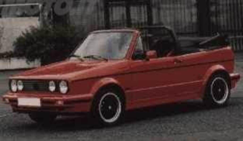 Volkswagen Golf Cabrio 1800i cat Sport