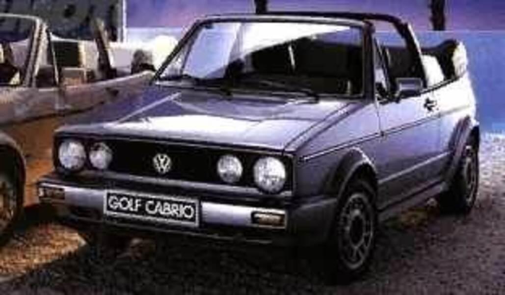 Volkswagen Golf Cabrio 1800 GLI Quartett