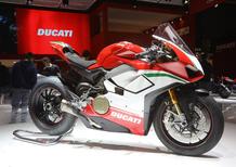 EICMA 2017: Ducati Panigale V4, foto, dati, video e prezzi