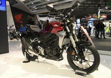 EICMA 2017: Honda CB300R, dati, video e foto