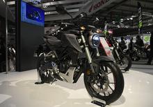 EICMA 2017: Honda CB125R, foto, video e dati