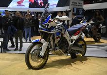 EICMA 2017: Honda Africa Twin CRF1000L Adventure Sports 2018. Foto, video e dati
