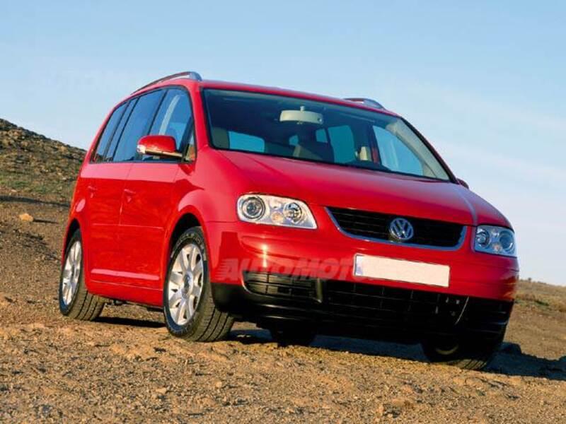 Volkswagen Touran TDI DPF Highline