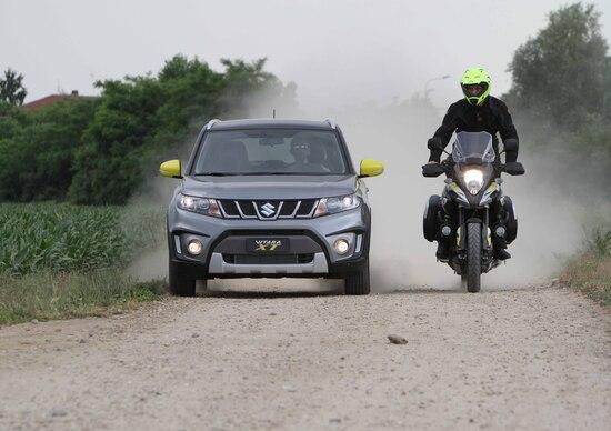 Suzuki Vitara XT, ispirata alla V-Strom