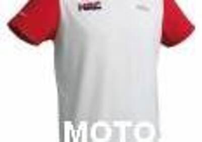 Honda T-shirt HRC bianco/rossa Nuova del 0 - Annuncio 6132234