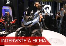 """EICMA 2017, Paolo Gagliardo: """"Con SYM joint-venture per crescere"""""""