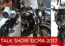 Talk show Eicma 2017: Naked, classiche e Heritage 2018