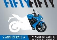Suzuki: 50/50 con Findomestic