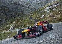 F1: Sébastien Buemi sul Gottardo con la RB8 [Video]