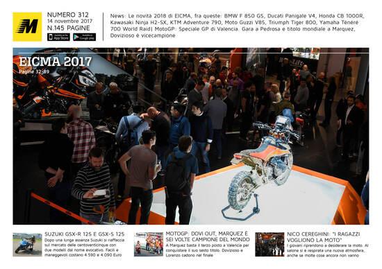 Magazine n° 312, scarica e leggi il meglio di Moto.it
